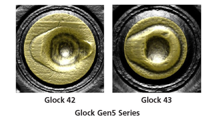 To Glock or not to Glock?  Firing pin shapes: 2019 update